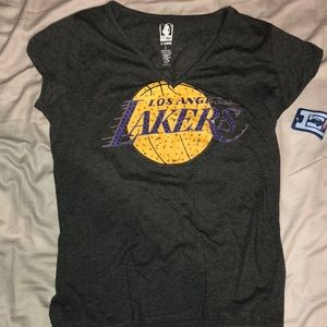 Lakers team shirt. Never worn.